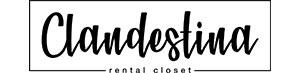 Logo Clandestina Rental Closet